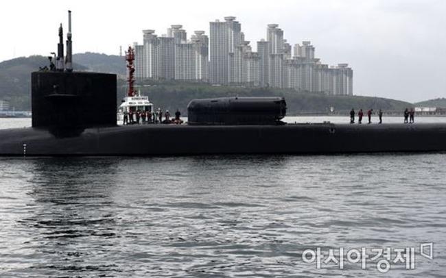 韓国の潜水艦