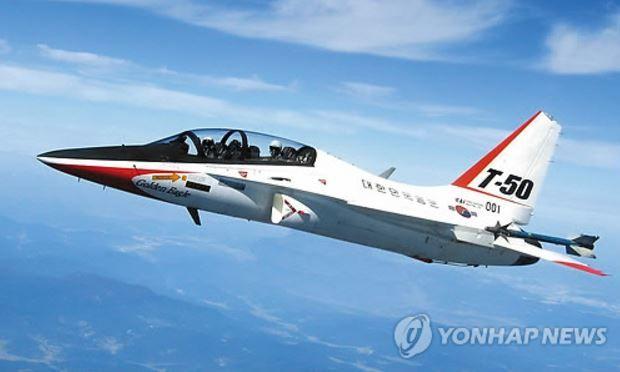韓国産高等訓練機T-50