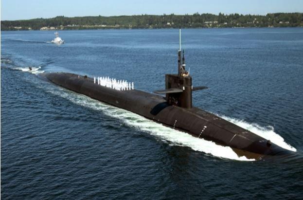韓国海軍の潜水艦