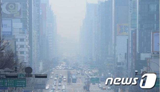 韓国の大気汚染