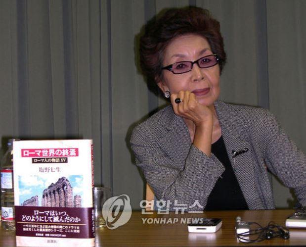 """海外「日本人女性作家、塩野七生さんが""""オランダ人女性慰安婦被害者に対して、日本政府が早急に手を打たなくては成らない""""と主張!」"""