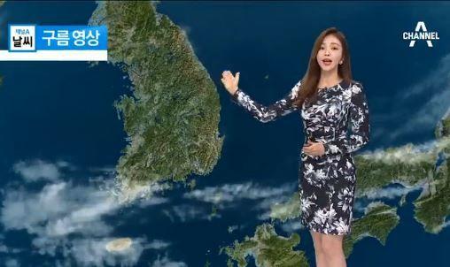 韓国のお天気お姉さん