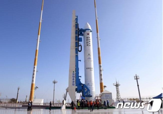 韓国のロケットヌリ号