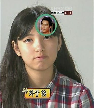 韓国の美少女