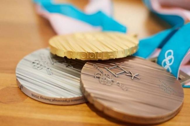 平昌冬季五輪のメダル