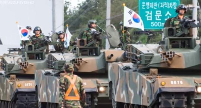 韓国軍の戦車