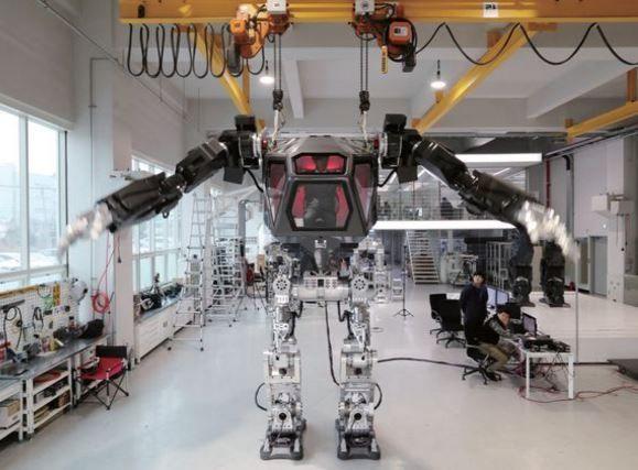 韓国の巨大ロボットメソッド-2