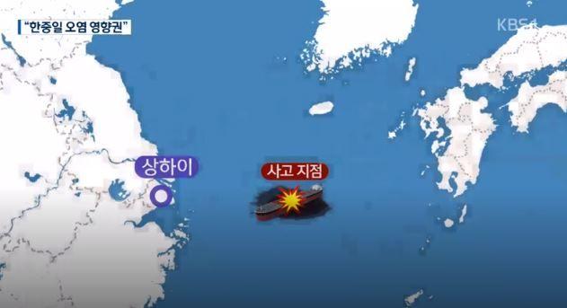 韓国人「韓国の右は放射能、左は原油汚染」中国東海上のタンカー事故‥韓国、日本の海域が汚染の影響圏へ 韓国の反応