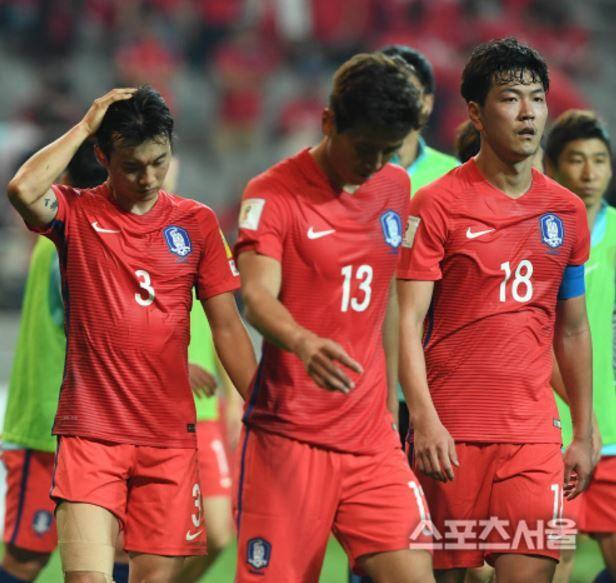 サッカーワールドカップ韓国代表