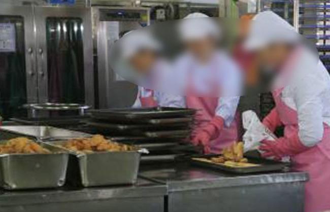 韓国の高校の学校給食からアニサキスが発見される