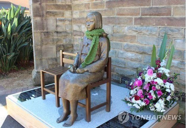 シドニーにある慰安婦像