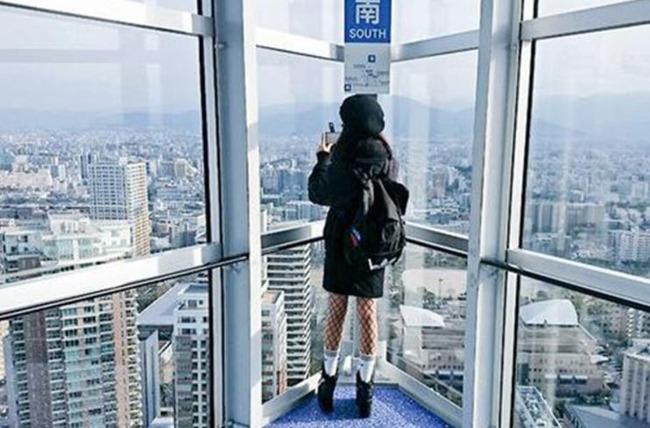 韓国人女性ツーリスト