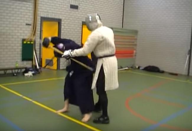 剣道家VS騎士