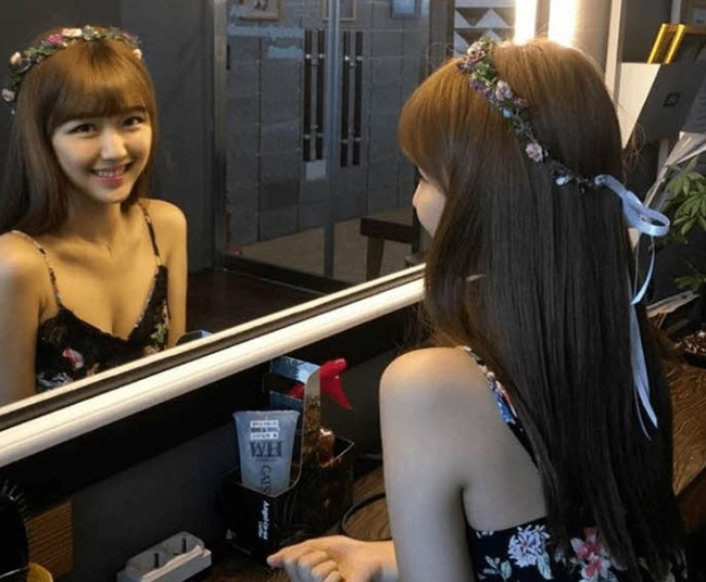 韓国で最も美しい女子高生ハンジユン