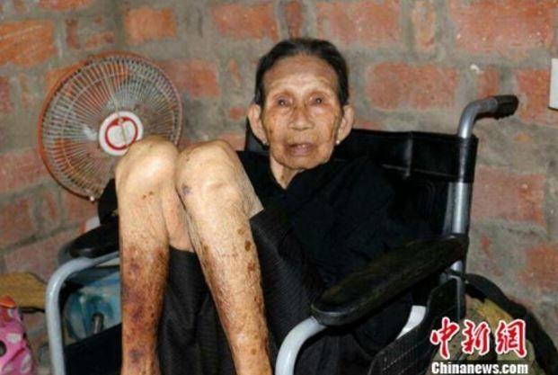 日本軍慰安婦被害者のファンユリャン(黃有良)さん