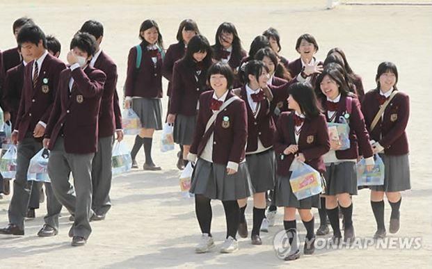 韓国へ修学旅行に行った日本の高校生