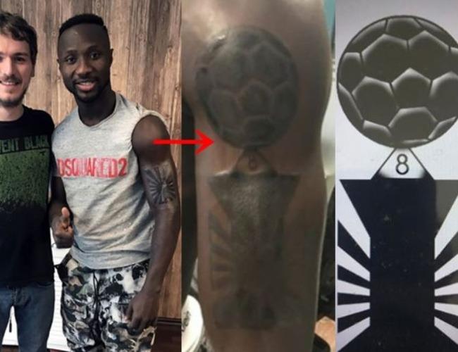 ケイタ選手「韓国ファンとの約束を守ります」旭日戦犯旗刺青をしたケイタ選手が戦犯旗刺青をトロフィーの形に修正! 海外の反応