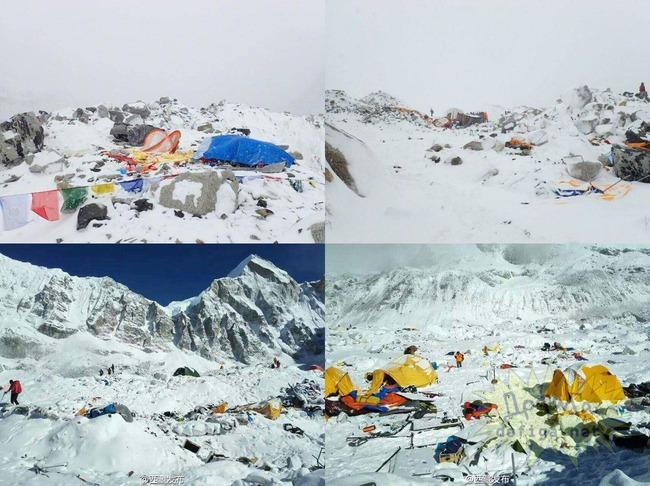 エベレスト雪崩被害