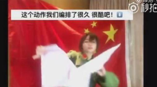 中国人人気美人ブロガーが韓国批判の動画を制作