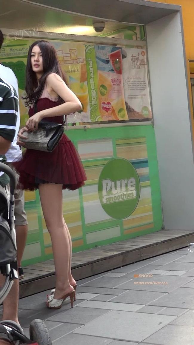 中国美脚美女