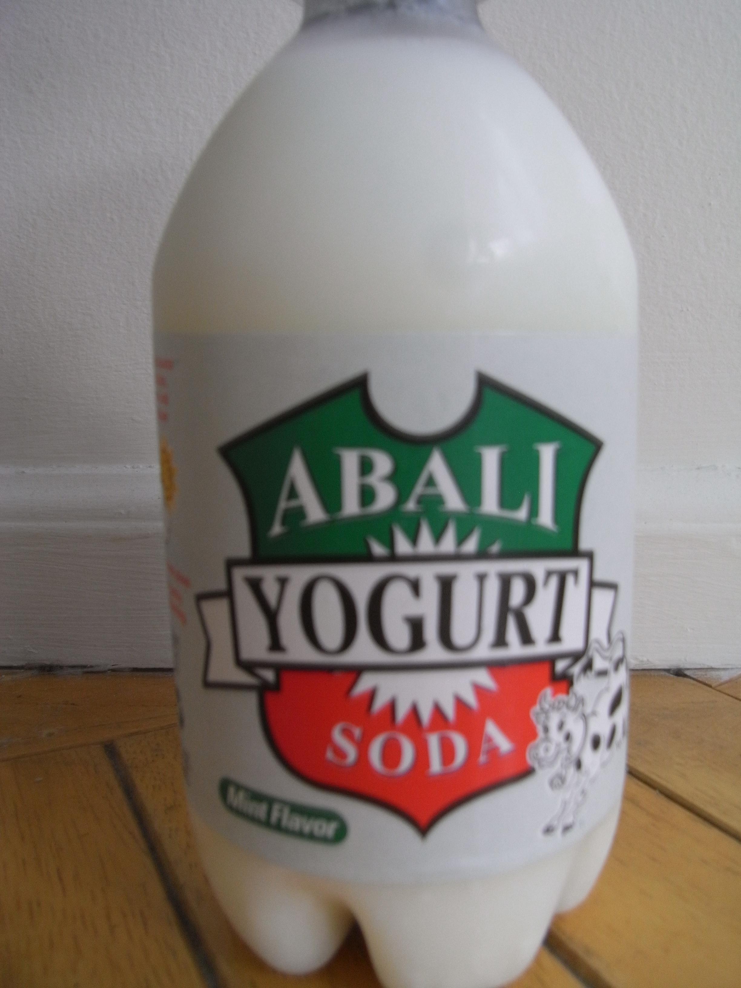 Abali yogurt soda ドゥーグ ミ...
