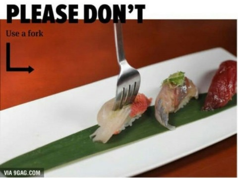 how to eat sushi 9