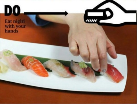 how to eat sushi 7
