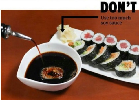 how to eat sushi 2