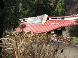 S58年建設の牛舎倒壊