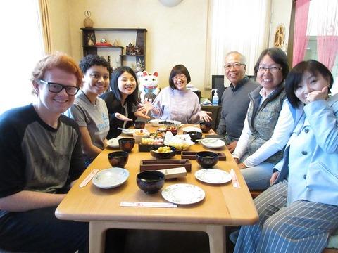 finished! Ready to eat osechi