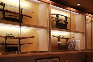 関刃物ミュージアム 日本刀展示