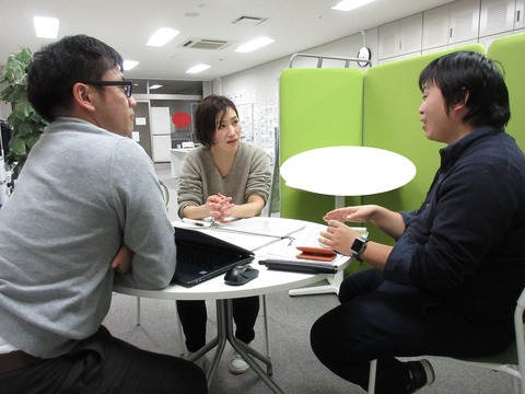 セキビズ デザイン相談会前川さん20180118