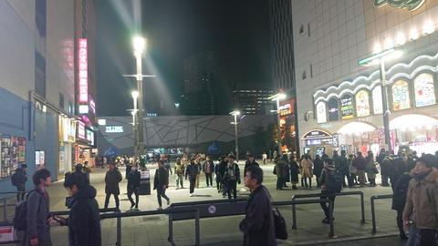 情報屋の青木さんがいた広場