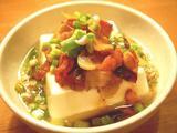 ガーリックベーコン豆腐