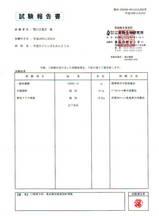 試験報告書11月