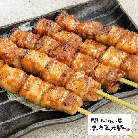漢方三元豚カルビ串