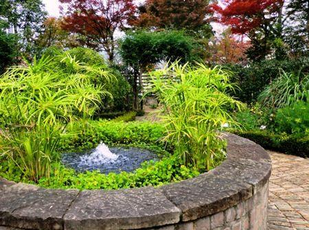 宝塚ガーデンフィールズの泉