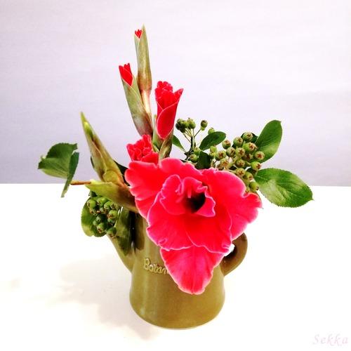 20200603余り花材で小品