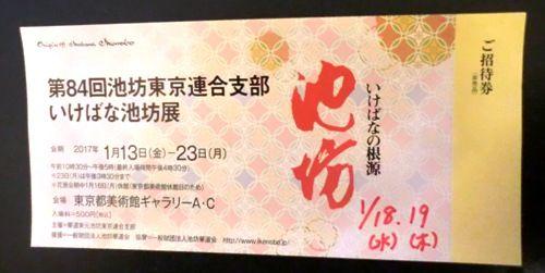 上野花展チケット