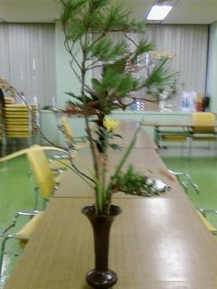 古典立花教室ー秋立て花下生け携帯撮影版2