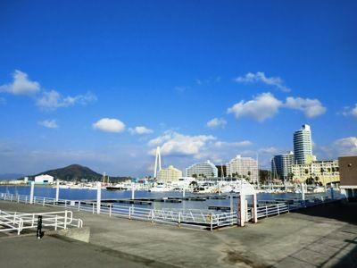 和歌山マリーナシティ海側