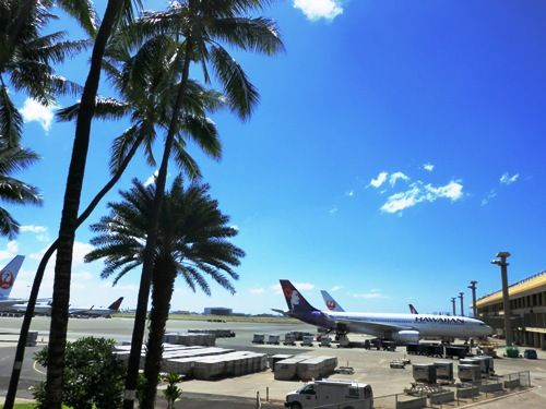 2014ハワイ空港