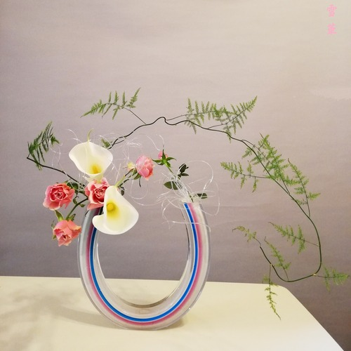 20200408アスパラ自由花