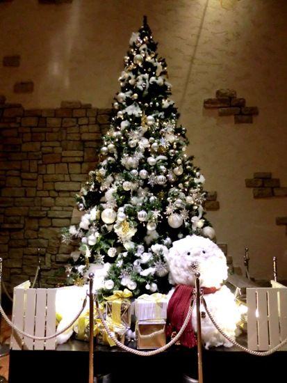 クリスマスツリーオリエンタルホテル