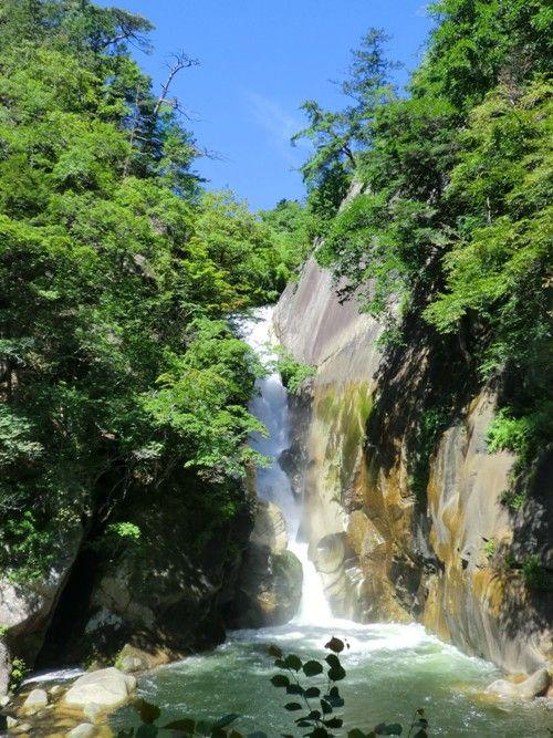 甲府合宿昇仙峡の滝