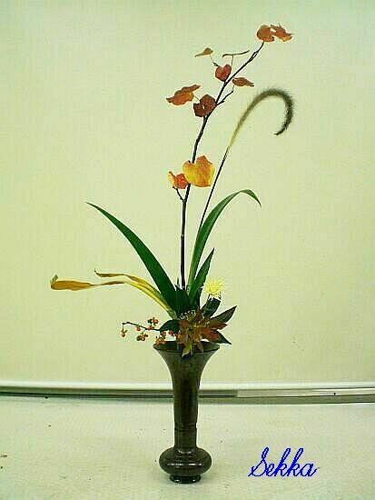 古典立花教室ー秋立て花(縮小版)