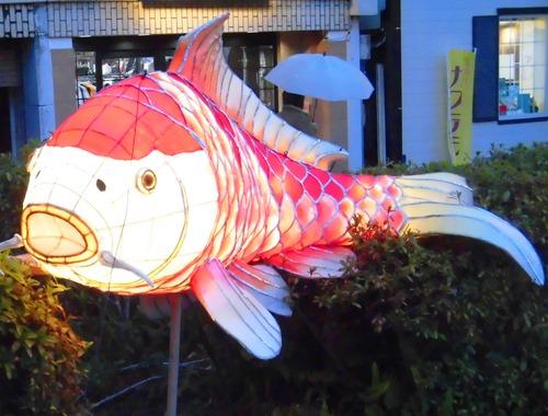 長崎ランタンフェスティバル鯉