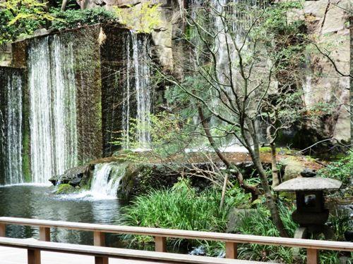 目黒雅叙園の中庭