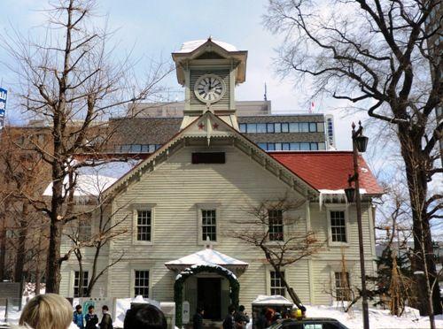 札幌3月の時計台
