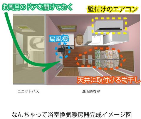 浴室平面図